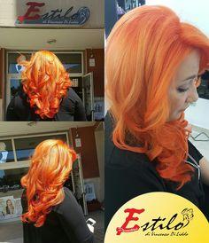 Pure orange d Estílo