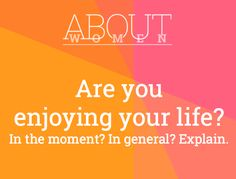 Question of the day... #ABOUTWOMEN #EnjoyLife #YesNoMaybe #Yes #No #Maybe #Sometimes  Please join the judgment-free convHERsation... https://www.facebook.com/groups/NikkiNiglABOUTWOMEN/