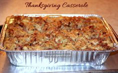 Thanksgiving Casserole: a Little Bit of Heaven on a Plate -- Get the recipe at Busy-at-Home!