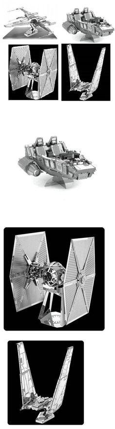Other Home Arts and Crafts 160669: Star Wars 3D Metal Earth Model Kit Pack Of 4 No Glue Or Solder Needed 360 View -> BUY IT NOW ONLY: $36.95 on eBay!