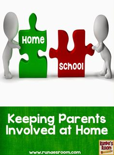 Keeping Parents Involved at Home - ideas and suggestions for keeping parents involved and interested in their students' work and learning.