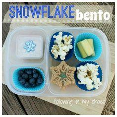 Snowflake bento #lunch