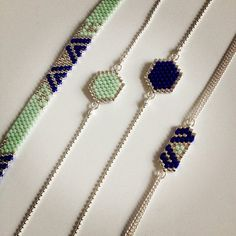 Voici des nouveautés! Bientôt sur la boutique! #artisticbracelet #bracelet…