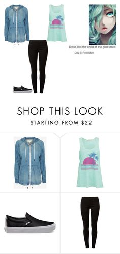 """""""Percy Jackson Outfit Challenge: Day 3"""" by ilovecats-886 ❤ liked on Polyvore featuring rag & bone, Hai, Brave Soul, Vans and Dorothy Perkins"""
