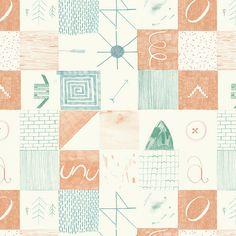 Pattern design by Richard Sanderson.