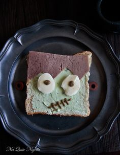 ☾☾ Halloween Ѽ Savory Eats ☾☾ Frankenstein Sandwiches
