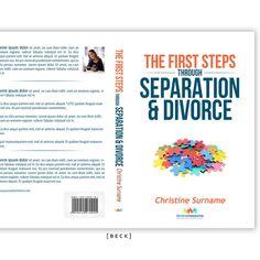 Divorce Resource Book Cover Design by [ B E C K ]