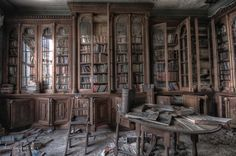 Furhouse Manor. Sigh...I would love to put my hands on some of those books.