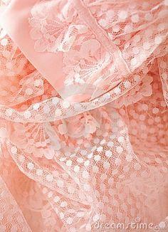Pink vintage lace. by leanne