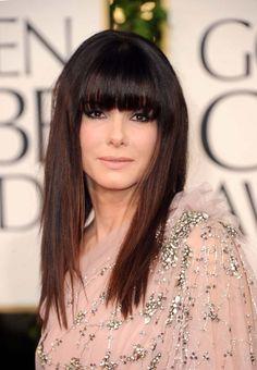 Sandra Bullock hair.