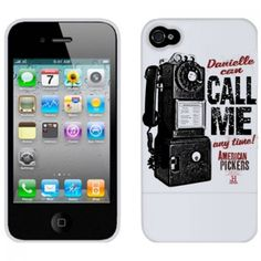American Pickers Danielle Call Me iPhone 4 Case