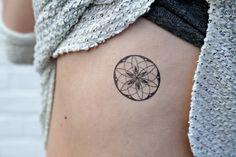 Geometrische temporäre Tattoos Heilige Geometrie von MerakiLabbe