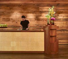 oak-mixed american gothic paneling