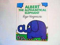 Albert the Alphabetical Elephant, a Vintage Children's ABC Book by lizandjaybooksnmore on Etsy