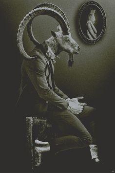 Goat man. Fallen angel man. Rebel. Addict. TV star. Sires vampires.  ('Up Jumps the Devil, Michael Poore, Ecco Press www.mikepoorehome.net )