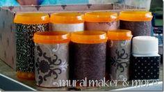 Mod Podge Craft Organizing pill bottles for beads, etc. Reuse Pill Bottles, Recycled Bottles, Bottles And Jars, Plastic Bottles, Medicine Bottle Crafts, Pill Bottle Crafts, Old Medicine Bottles, Craft Organization, Craft Storage