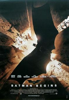 """Batman Begins (2005) - """"It's not who I am underneath... but what I *do*... that defines me."""""""