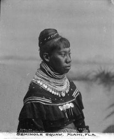 Seminole Native American Woman | Photograph | Wisconsin Historical Society