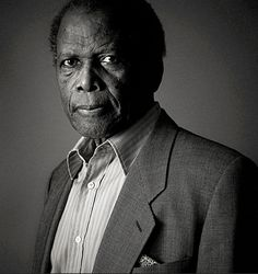 Sidney Poitier by Andy Gotts