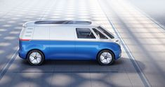 Volkswagen Commercial Vehicles is electrifying the 2018 IAA with five new zero-emission models Vw Bus, Bus Camper, Electric Van, Hydrogen Fuel, Volkswagen Models, Busse, Unique Cars, Commercial Vehicle, Concept Cars