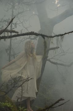 skogsrå, a mythical woman that deceives men into the Swedish woods according to our legends. Dnd Races, Hidden House, Earth Wind & Fire, Photographer Pictures, Out Of Touch, Fantasy Photography, Writer's Block, Sword And Sorcery, Art Women