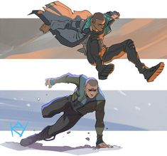 Markus detroit become human Action Pose Reference, Drawing Reference Poses, Action Poses, Drawing Poses, Character Poses, Character Concept, Character Art, Character Design, Comic Collage