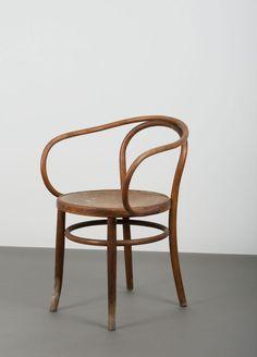 Armlehnstuhl 'Nr. 6009' - 'Wiener Stuhl' oder auch 'Corbusierstuhl' oder auch 'B9', um 1900
