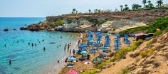 Kapparis Beach - Blue Flag. The furthest coastal strip of the area.  Located close to the main strip of the popular tourist resort of Protaras - which is part of the holiday town of Paralimni - the small beach of Kapparis is a relatively secluded strip that can be found at the end of a 1 km track.