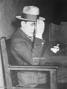 Very young Tony Accardo avoiding the press.