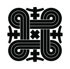 My next tattoo.. It is a Finnish symbol for protecting against evil spirits. Known as Saint John's arms or St Hannes cross.