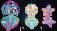Polly Pocket!  But back when they were small and parents weren't worrying about their kids eating the pieces.