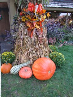 Fall decoration photo by Nicole