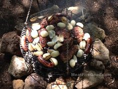 Schwenker is a popular German style cook-out -- a combination of recipe and method of cooking. And Wow! It tastes fantastic! Instead of throwing your meat on a grill above charcoal where the cook ...