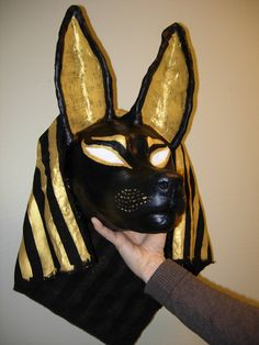 Anubis mask by Sunima.deviantart.com on @deviantART