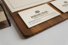 Brand Identity: Hudson Made by Hovard Design