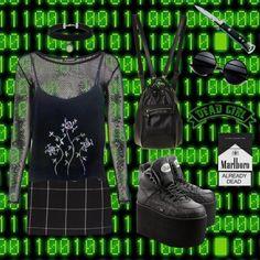 """enter the matrix"" by lishalash on Polyvore"