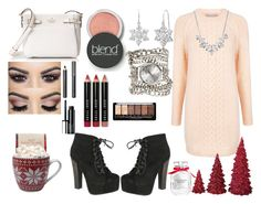 """""""Holiday OUtfit #3"""" by mikage44 on Polyvore featuring Paul & Joe Sister, Victoria's Secret, Dot & Bo, Breckelle's, Givenchy, Kate Spade, Amanda Rose Collection, Burberry, Clinique and Blend Minerals"""