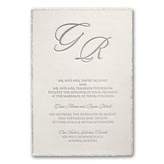 The shimmering, pearl deckled edge adds flair to this white invitation. The simple detail is stunning and will be admired by all your friends and family! Sweet Heart Details donates all profits to help animals in need. Corporate Invitation, Letterpress Wedding Invitations, Wedding Invitation Suite, Elegant Wedding Invitations, Wedding Stationary, Bridal Shower Invitations, Custom Invitations, Invites, Discount Wedding Invitations
