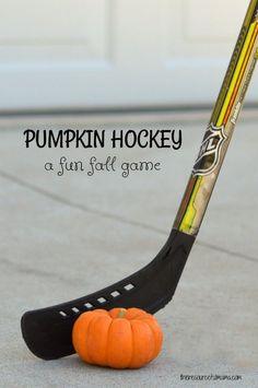 Pumpkin hockey is a