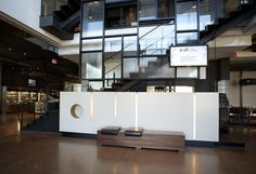 LEMAYMICHAUD | ALT | Toronto | Pearson Airport | Architecture | Design | Hospitality | Lobby | Entrance | Seating |