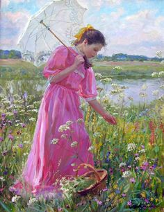 'Picking Wildflowers'