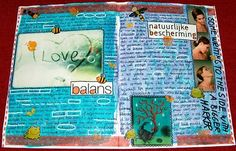Caatje's Artsy Stuff: Easy Peasy Journal Tutorial - Part three: writing