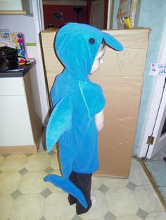 Dolphin costume AAWWW!!!