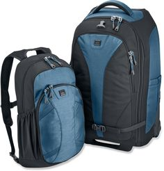 """looks awesome for travel !!! REI Stratocruiser Wheeled Luggage - 22"""" - Free Shipping at REI.com"""