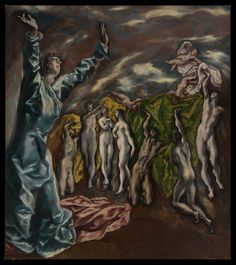El Greco, The Vision of Saint John, ca. 1608-1614 | The Met