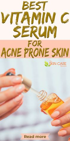 Looking for the best vitamin c serum for acne prone skin? We have hand picked some of the best products for you. Read more about best Vitamin C serum at theskincarereviews.com. #vitamincserum #acne Best Acne Products, Skin Products, Skin Care Remedies, Acne Remedies, Skin Breaking Out, Best Vitamin C Serum, Acne Serum, Clear Skin Tips, Diy Lip Balm