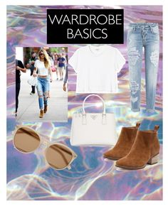"""""""Untitled #30"""" by perla-s-duenas-gonzalez on Polyvore featuring Monki, Prada, Dsquared2 and Yves Saint Laurent"""