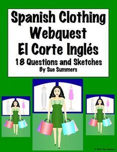 El Corte Inglés webquest