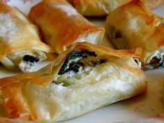 cuisine libanaise - cigares a la grecque .
