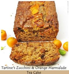 Tartine's Zucchini and Orange Marmalade Tea Cake ... as healthy as it gets this end! - Passionate About Baking